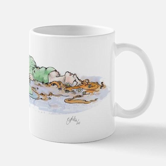 Ophelia In The Water Mug