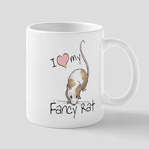 I Love My Fancy Rat Mug