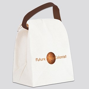 Future Mars Colonist Canvas Lunch Bag