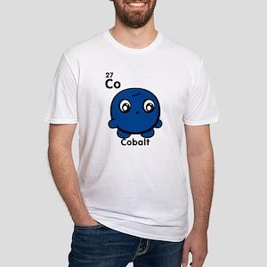 Cute Element Cobalt Fitted T-Shirt