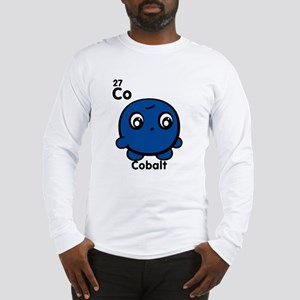 Cute Element Cobalt Long Sleeve T-Shirt