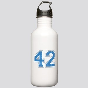 Retro Number 42 Stainless Water Bottle 1.0L