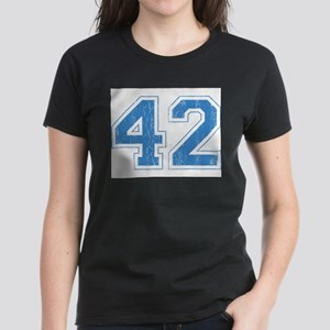 Retro Number 42 Women's Dark T-Shirt
