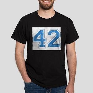 Retro Number 42 Dark T-Shirt