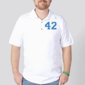 Retro Number 42 Golf Shirt