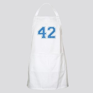 Retro Number 42 Apron