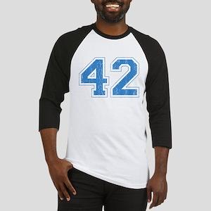 Retro Number 42 Baseball Jersey
