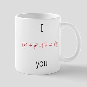 Math Love Formula Mug