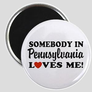 Somebody in Pennsylvania Loves Me Magnet