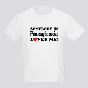 Somebody in Pennsylvania Loves Me Kids T-Shirt
