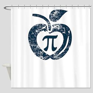 I love pi Shower Curtain
