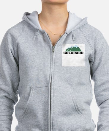 Unique Colorado Zipped Hoody