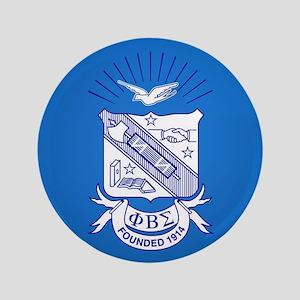 Phi Beta Sigma Crest Button