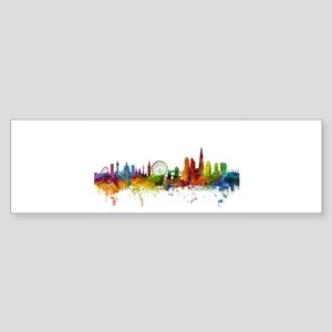 London England Skyline Bumper Sticker