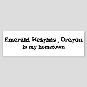Emerald Heights - Hometown Bumper Sticker