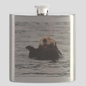 Smiling Otter Flask