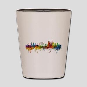 London England Skyline Shot Glass