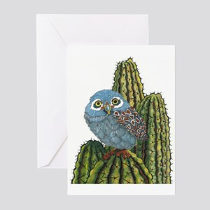 Soutwest Elf Owl Art Greeting Cards (Pk of 10)