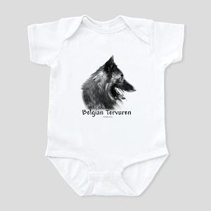 Tervuren Charcoal Infant Bodysuit