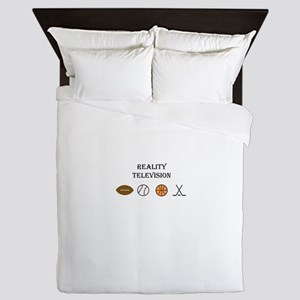 Reality Television is SPORTS! Queen Duvet