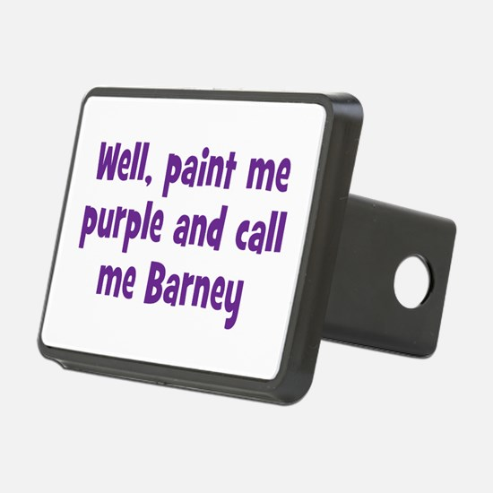 Call me Barney Hitch Cover