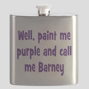 Call me Barney Flask