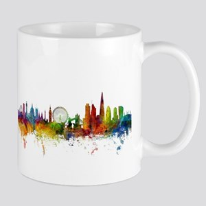 London England Skyline Mugs