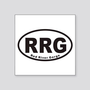 Red River Gorge RRG Euro Oval Sticker