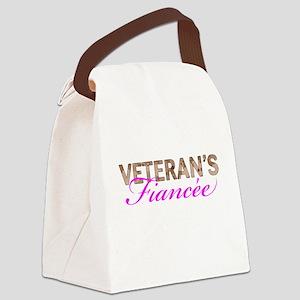 Marine Vet's Fiancee Desert Canvas Lunch Bag