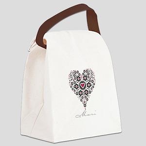 Love Mari Canvas Lunch Bag