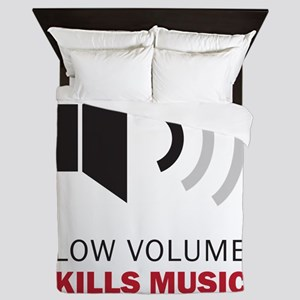 Low Volume Kills Music Queen Duvet