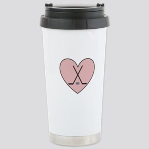 Hockey Heart Travel Mug