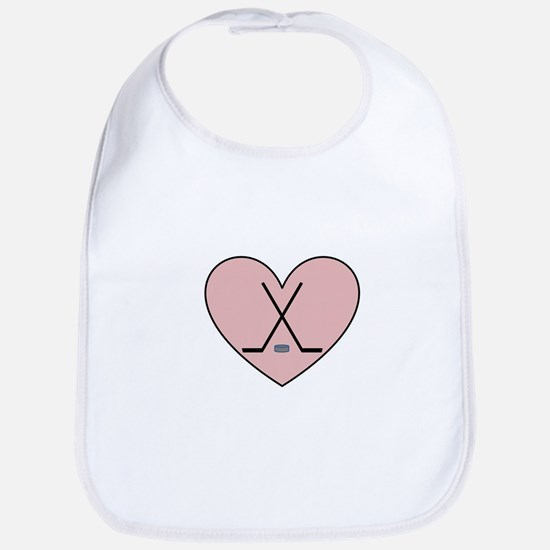 Hockey Heart Bib
