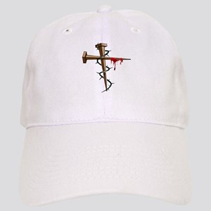 Nail Cross Baseball Cap