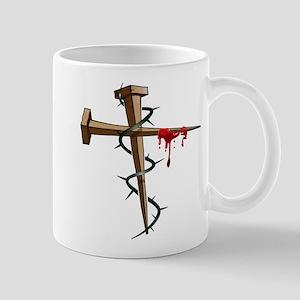 Nail Cross Mug