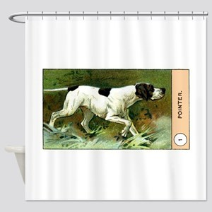 Antique 1908 English Pointer Dog Cigarette Card Sh