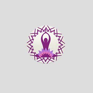 Yoga Design Mini Button