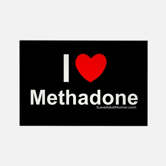 Methadone Rectangle Magnet