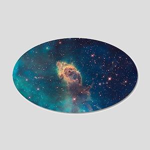 Space Nebula Wall Decal