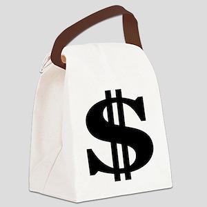 Dollor Canvas Lunch Bag