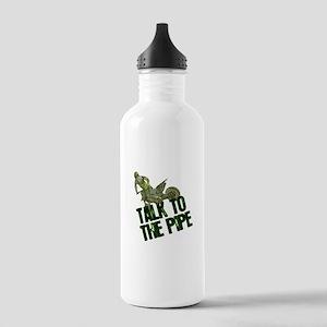 Talktothepipe copy Water Bottle