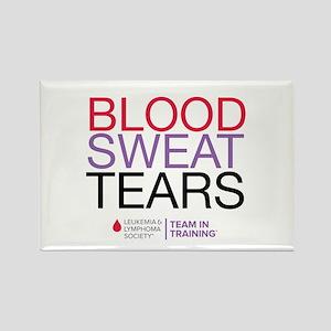 Blood Sweat Tears Rectangle Magnet