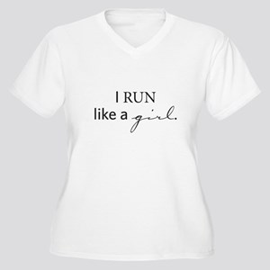 Ordinary Jane Runs Plus Size T-Shirt
