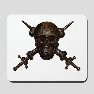 Moschettieri del Duce Cap Badge Mousepad