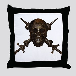Moschettieri del Duce Cap Badge Throw Pillow