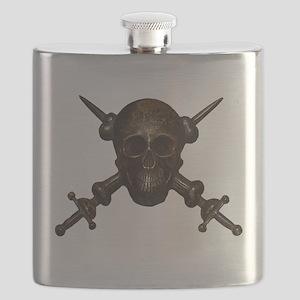 Moschettieri del Duce Cap Badge Flask