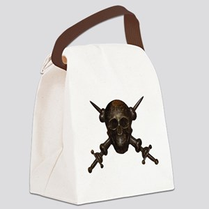 Moschettieri del Duce Cap Badge Canvas Lunch Bag
