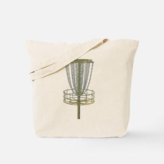 Disc Golf Basket Frisbee Frolf Tote Bag