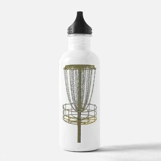 Disc Golf Basket Frisbee Frolf Water Bottle