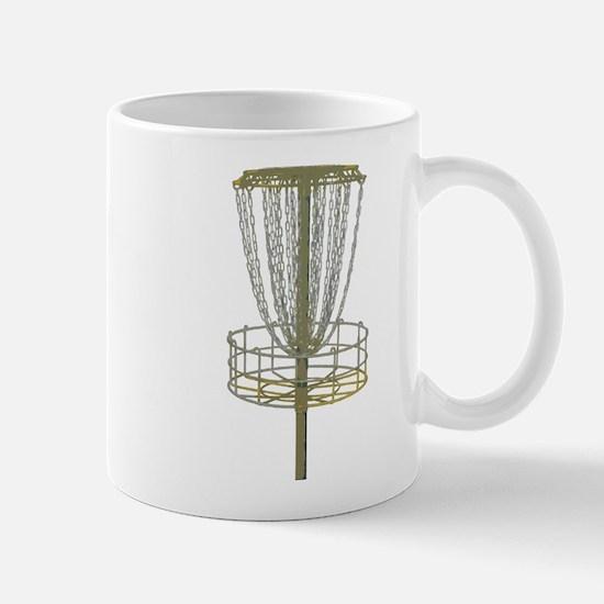 Disc Golf Basket Frisbee Frolf Mug